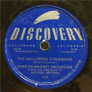 Paris Symphony Orchestra / Phil Moore Orchestra - The Galloping Comedians / Day Dream download free